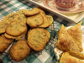 Home made cookies Theeschenkerij Het Melkmeisje